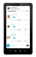 OrderEase wholesale ordering feature phone app