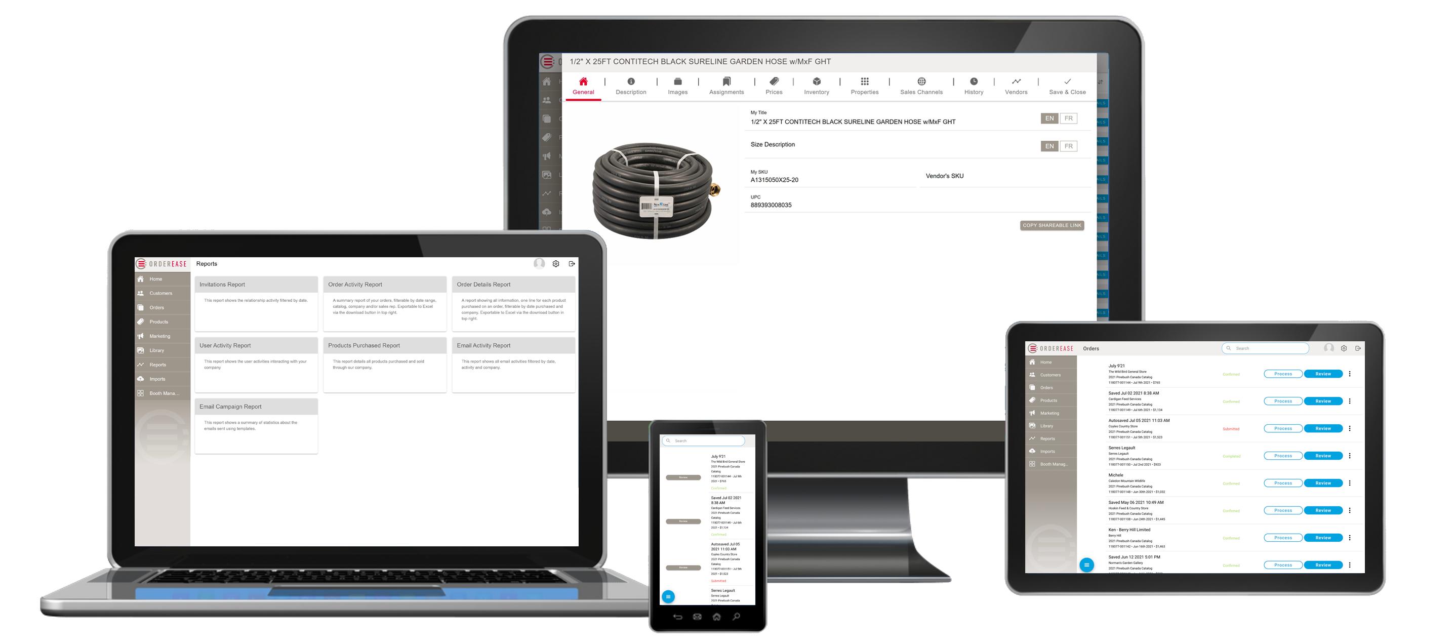 OrderEase Order Management Software